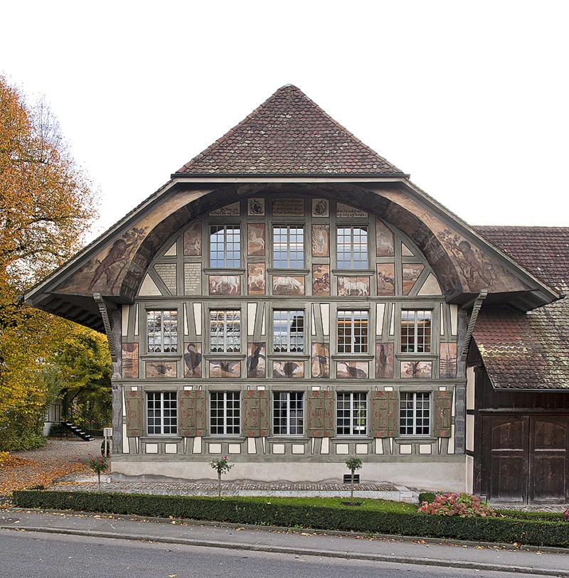 Aarwangen Tierlihus GA N-Fassade 150 Geschaerft Website KDP5089 Fotografie Bern, Beat Schertenleib